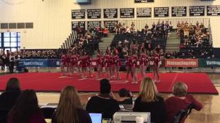 Pinkerton Academy Varsity Cheer - 2015 New England Intersch