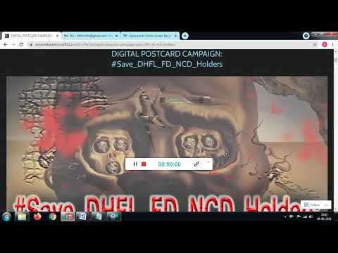 DIGITAL POSTCARD CAMPAIGN #DHFL: SAMPLE VIDEO FOR THE DHFL FD-NCD-SHARE-HOLDERS