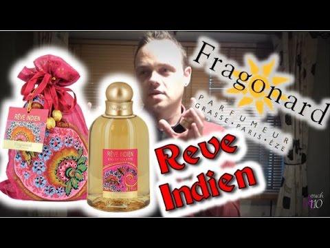 Rêve Indien de 200 ml de Fragonard dans son pochon