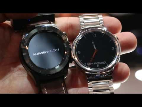 Anteprima Huawei Watch 2 e confronto con Huawei Watch