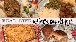 WHAT'S FOR DINNER & DESSERT. || REAL LIFE LARGE FAMILY DINNERS & DESSERTS