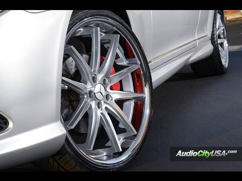 "Mercedes Benz CL 550 2009 On 22"" Asanti Wheels"