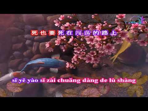 Du Hành Khắp Thiên Hạ - KARAOKE - 闯天涯 - Beat