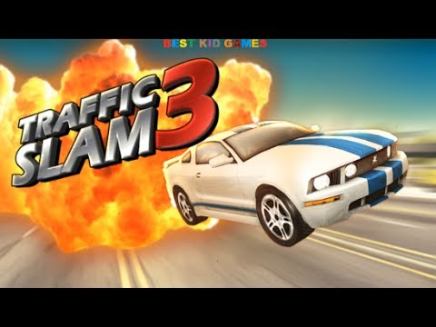 Traffic Slam 3 Car Crashing Game 3D - Best Kid Games (видео)