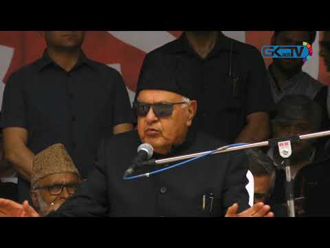 Happy Omar didn't join those whose hands are drenched with Muslim blood: Farooq Abdullah