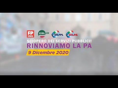SCIOPERO DEL PUBBLICO IMPIEGO DEL 09/12/2020