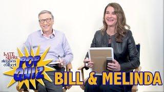 Pop Quiz with Bill & Melinda Gates