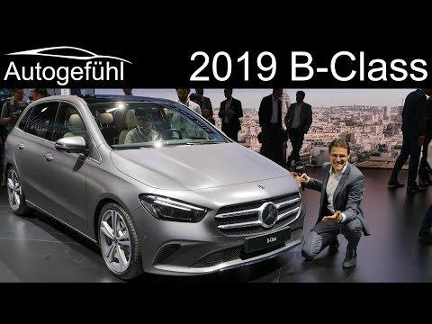 All-new Mercedes B-Class REVIEW Premiere 2019 BClass B-Klasse - Autogefühl
