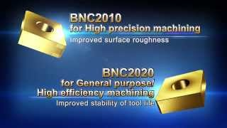 Coated CBN Grades for Hardened Steel Machining Coated SUMIBORON BNC2010 / BNC2020