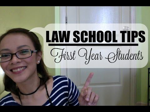 LAW SCHOOL TIPS for First Year Students | Isai Rivera