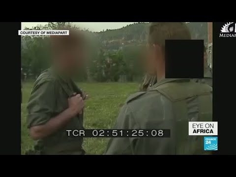 Genocide-era Rwanda footage casts French army in troubling light