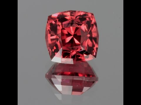 Imperial Zircon Square Cushion 6.05 Carats`