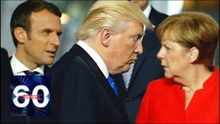 """Оставите """"Северный поток-2"""": Трамп закатил СКАНДАЛ в НАТО! 60 минут от 11.07.18"""