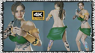 Resident Evil 2 Amazona of Psy Claire Mod