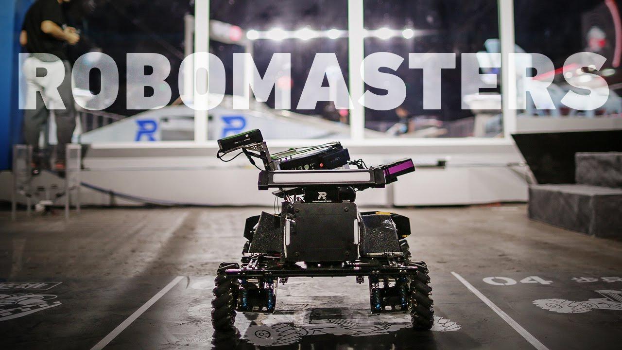 RoboMasters 2016: inside DJI's robot deathmatch thumbnail