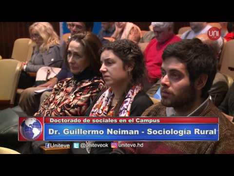 Doctorado en sociales en el Campus de la UNVM