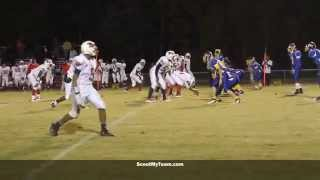 preview picture of video 'Charles City standout athlete Dominique Williams makes a nice tackle on Sussex's Tyquan Johnson'
