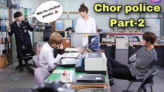 BTS police station // funny Hindi dubbing // run ep 12 // part -2