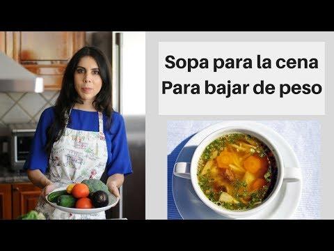Receta De Sopa Para Cenar Si Deseas Bajar De Peso