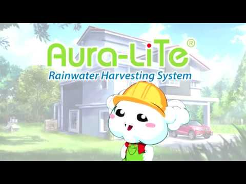 Rainwater Harvesting System Animation