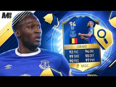 FIFA 17 TOTS LUKAKU REVIEW | TOTS LUKAKU 94 | FIFA 17 ULTIMATE TEAM PLAYER REVIEW