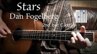 Dan Fogelberg Stars - guitar lesson