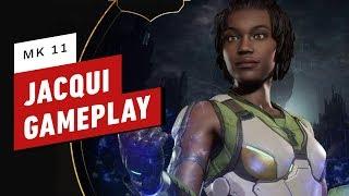 Mortal Kombat 11 - Jacqui Briggs Gameplay and Movelist Breakdown