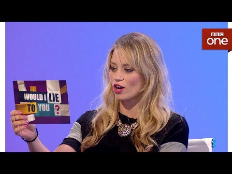Pomohlo Kimberly Wyatt, že umí rozštěp? - Would I Lie to You?