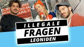 LEONIDEN: Bekifft Beim Interview?!   Illegale Fragen