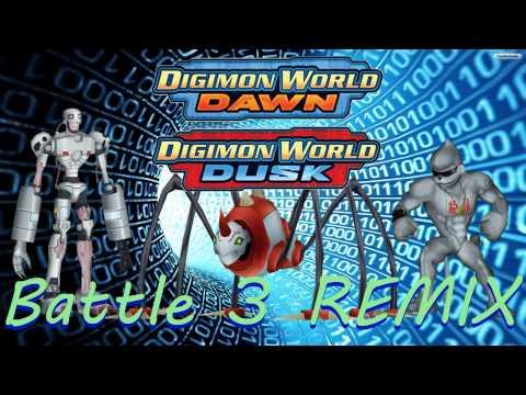 Digimon World: Dawn/Dusk Battle Theme 2 Remix - смотреть