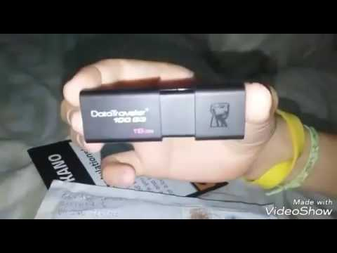 Unboxing Kingston Pen Drive 16GB Free From   Gokano  