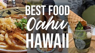 WHERE TO EAT IN OAHU HAWAII 2019 | Poke, Shrimp Food Truck, Udon, and Shave Ice!