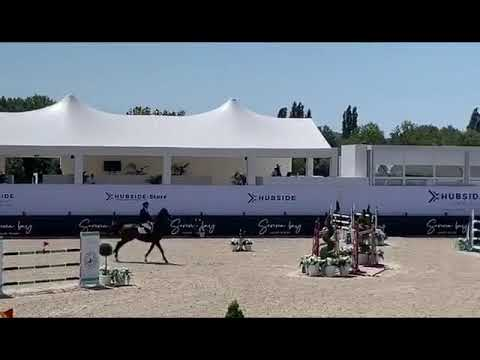 4th place for Jos and Fabregas in the LR 1m50 class at  CSI4**** St - Tropez