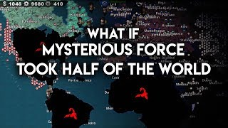 What If The Mysterious Force Took Half of The World?
