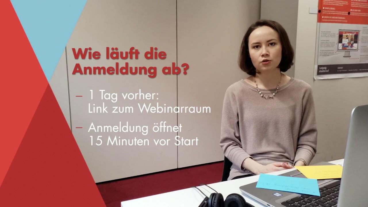 Webinar zur Studienwahl: FAQ