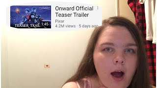 Disney Pixar Onward official teaser trailer reaction - Tiffany - tiff&court