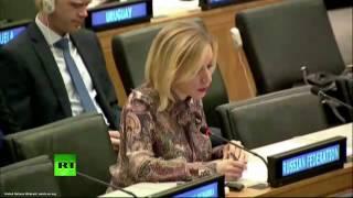 Мария Захарова на заседании Комитета по информации Генеральной Ассамблеи ООН