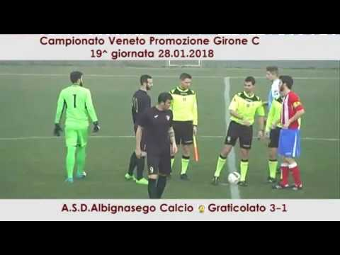 Preview video Albignasego - Graticolato 3-1 (28.01.2018)