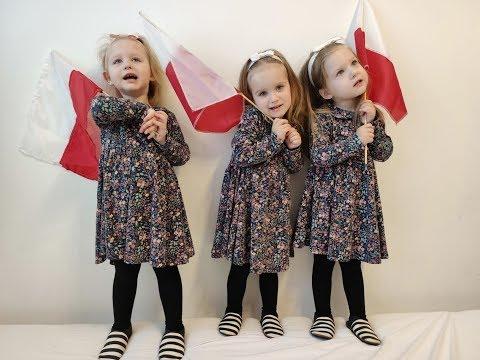 Święto Niepodległości - Hymn Polski [vlog: 11.11.2019] | Nowe Rainbocorns