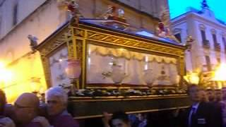 preview picture of video 'L'urna con il Cristo morto al Venerdì santo di Porto Empedocle (Ag)'