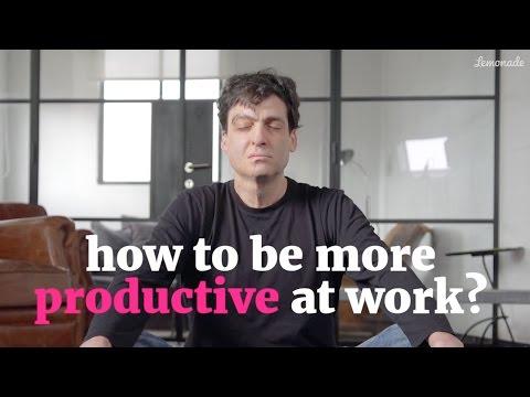 Chcete být produktivnější?