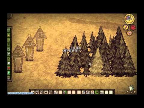 Don't Starve Tutorial - Chopping Trees Mp3