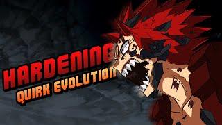 Eijiro Kirishima (Red Riot) Hardening Quirk Evolution! - My Hero Academia