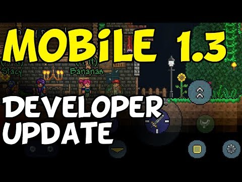 New Developer Updates for Mobile Terraria 1.3 [iOS, Android]