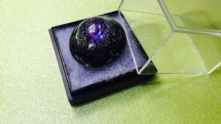 DIY( ́•ૢ⌔•ૢ ̀)レジンで神秘的な宇宙を作ってみた(*^^*)