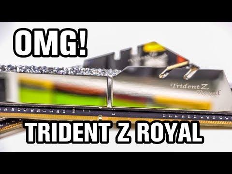 G SKILL Trident Z Royal DDR4-3200 16GB Memory Kit Review
