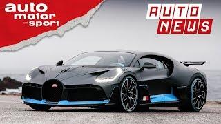 Bugatti Divo: Das 5-Millionen-Euro-Hypercar - NEWS | auto motor und sport