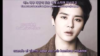 Love That Is Too Painful Was Not Love XIA Junsu [Sub español + Romanizacion + Hangul]