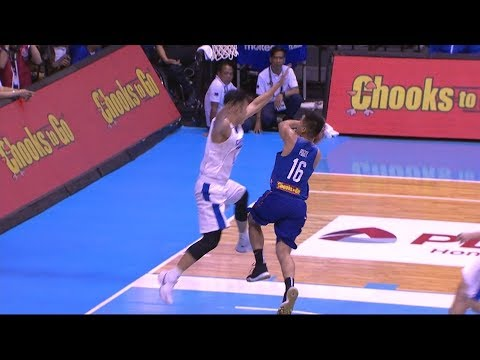 Ravena Finds Pogoy on the Run! | FIBA World Cup 2019 Asian Qualifiers