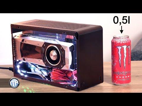 Der kleinste Gaming PC der Welt mit FullSize-GPU - i7 7700k, GTX 1080 (Ti), DAN A4 SFX